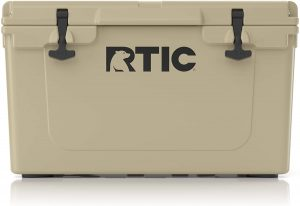 The RTIC 45 is one of the best coolers for van life.