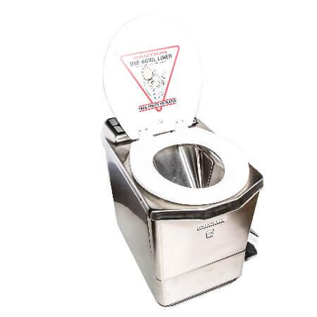 Incinolet incinerator toilet