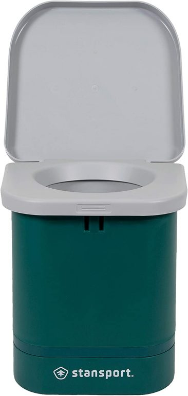 The Stansport portable camp toilet