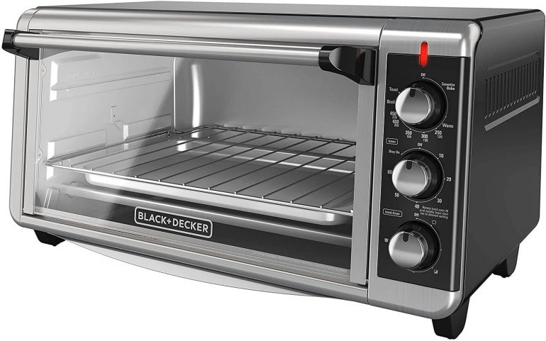 Black Decker TO3250XSB Convection Countertop Toaster Oven
