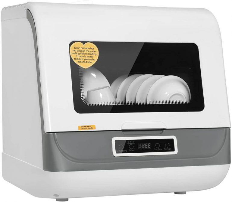 KKTECT Portable Countertop Dishwasher