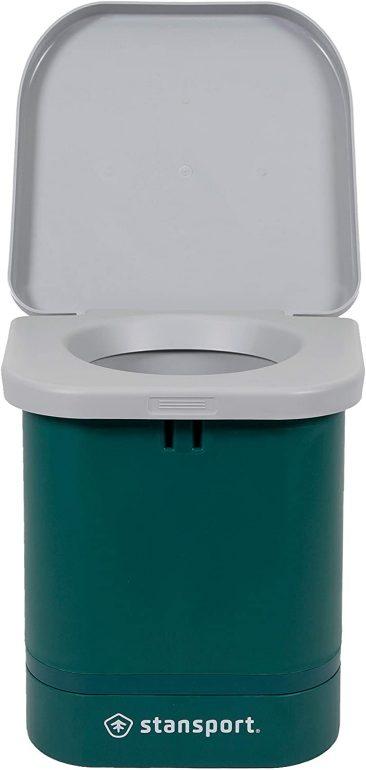 Van life bucket toilet