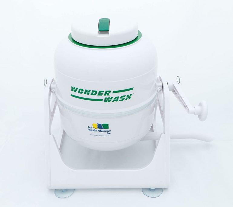 Off-grid washing machine - Wash