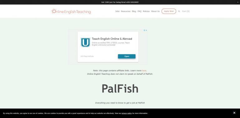 Palfish's home page
