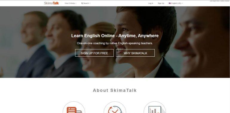 SkimaTalk's home page