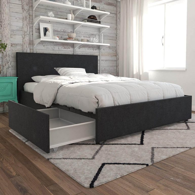 tiny house furniture storage beds