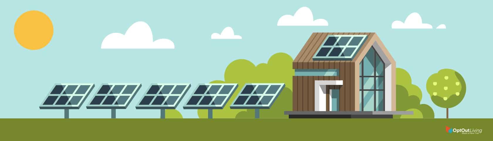 solar panels tiny home