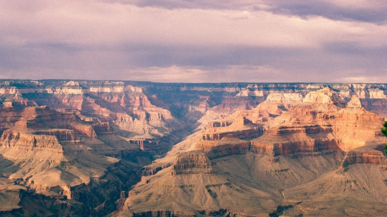 a landscape picture of a canyon